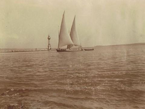1905 - Barques Meillerie en rade