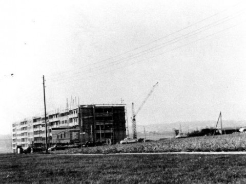 Immeuble en chantier