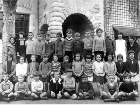 Ecole Louis Favre classes__Classe de Mme Mazzuri 2e 1928-29
