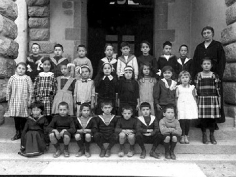 Ecole Louis Favre classes__Classe de Mme Plasson 1915-1916