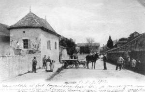 Meyrin village 7 septembre 1909