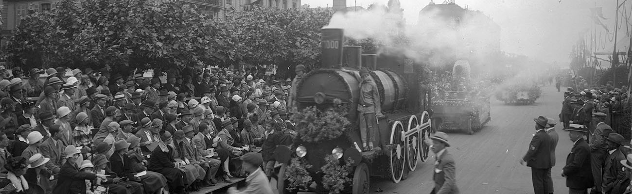1925 fête des fleurs, Genève