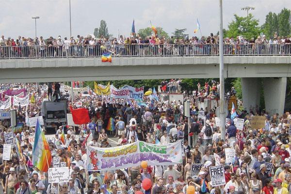 Manifestation à Genève